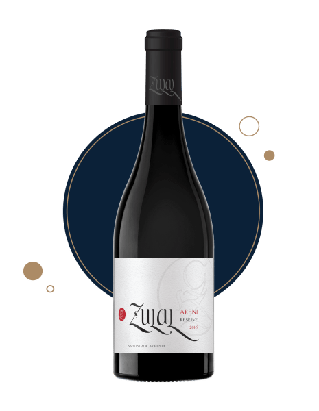 Armenian red wine ZULAL Areni Reserve 2018