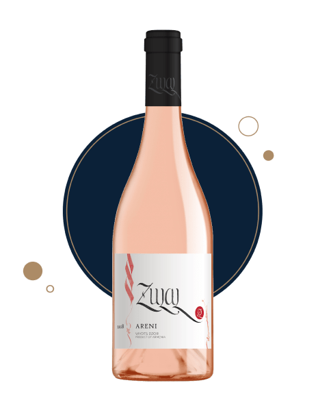 Armenian rose wine zulal Areni 2018