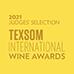 TEXSOM International Wine Awards - Zulal Areni 2021